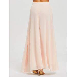 High Waist Maxi Evening Skirt -