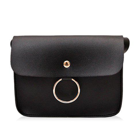 Latest Faux Leather Flapped Crossbody Bag