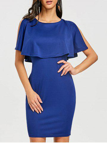 Outfit Scoop Neck Knee Length Caplet Dress