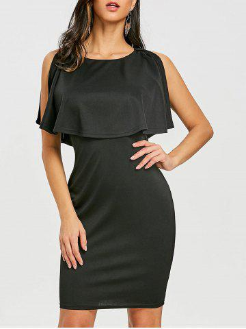 Cheap Knee Length Caplet Dress