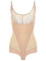 Sheer Mesh Slip Teddy -