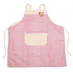 Plaid Bear Kitchen Apron -