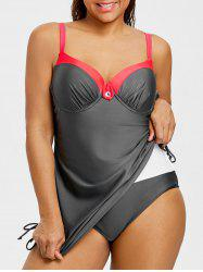 Underwire Plus Size Modest Swimwear -