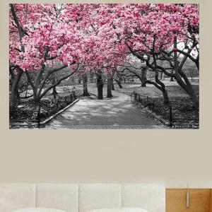 Peach Blossom Forest Print Home Decor Wall Art Painting -