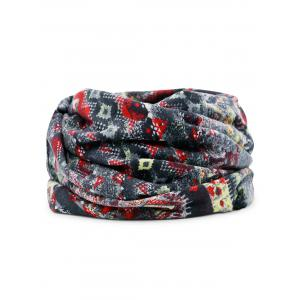 Unique Digital Pattern Printed Slouchy Beanie -