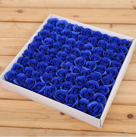 Shops 81 Pcs Artificial Soap Rose Flowers In A Box Valentine's Day Gift