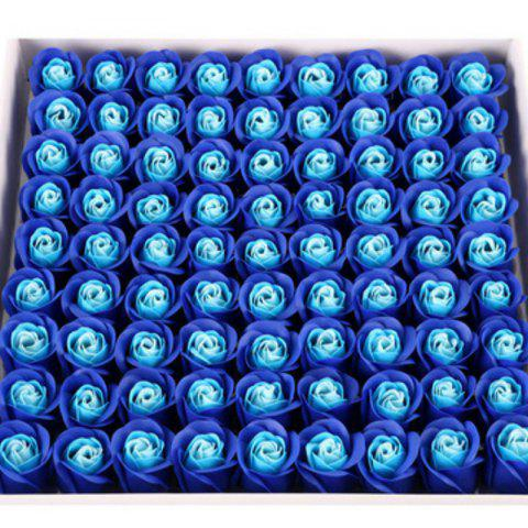 Best 81 Pcs Artificial Soap Rose Flowers In A Box Valentine's Day Gift