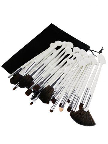 New Professional 20Pcs Ultra Soft Fiber Hair Eye Makeup Brush Set