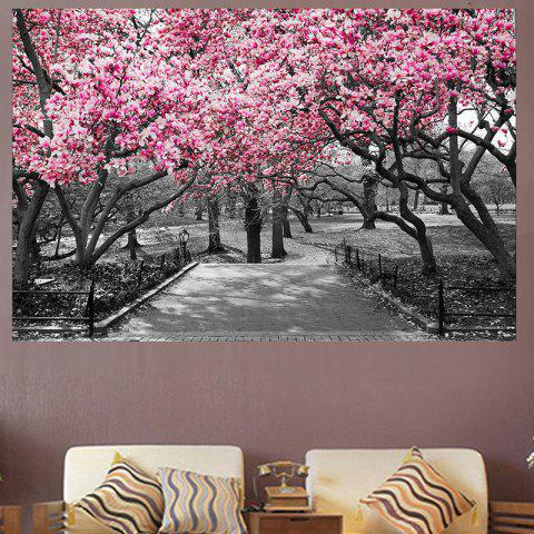 Outfits Peach Blossom Forest Print Home Decor Wall Art Painting