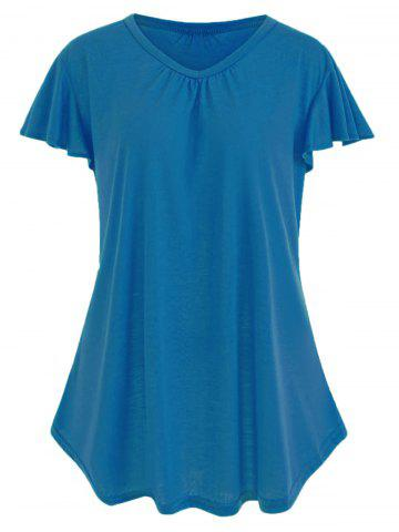 Chic Plus Size Simple T-shirt