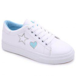 Сердце Star Pattern Skate Shoes -