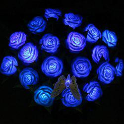 1 Piece LED Light Artificial Flower Valentine's Day Gift -