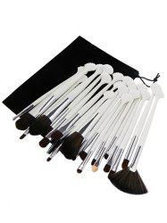 Professional 20Pcs Ultra Soft Fiber Hair Eye Makeup Brush Set -