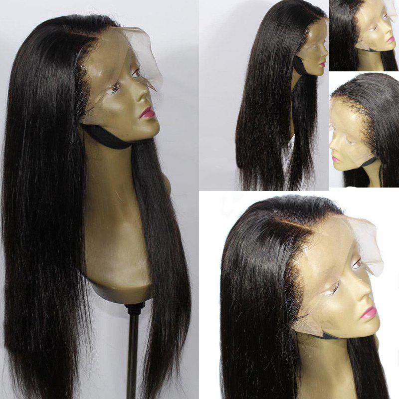 Latest Long Side Parting Straight Lace Front Synthetic Wig d49007a35