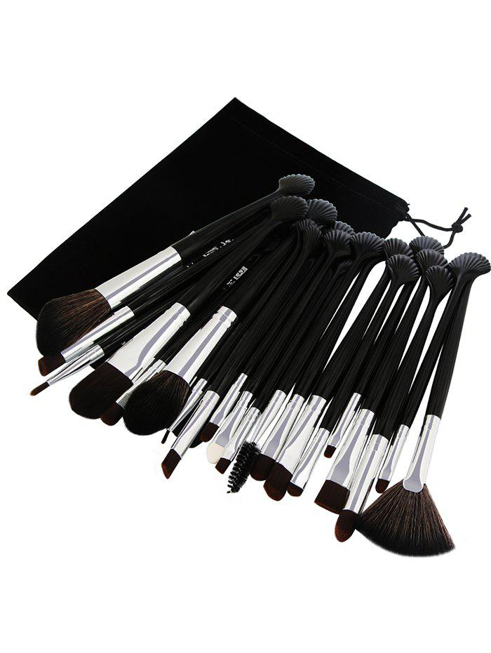 Latest Professional 20Pcs Ultra Soft Fiber Hair Eye Makeup Brush Set