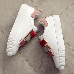 Casual Contrasting Color Skate Shoes -
