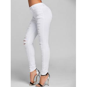 Distressed Skinny Jeans -