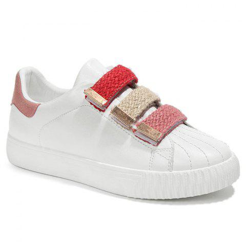 Buy Casual Contrasting Color Skate Shoes