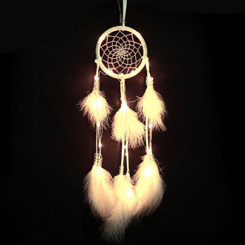 Discount Valentine's Day Decorations Lights String Dream Catcher