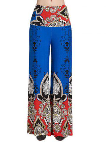 Fancy Mid Waist Wide Leg Exumas Pants