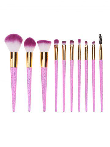 Outfit 10Pcs Ombre Hair Makeup Brushes Set
