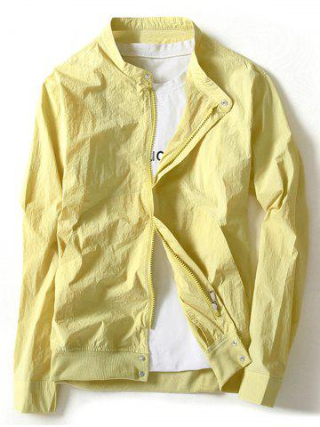 Fancy Insert Pocket Lightweight Jacket
