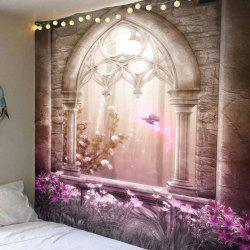 Flower Magical Castle Wall Hanging Decoration -