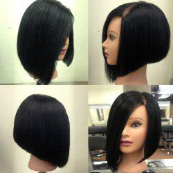 Side Parting Medium Straight Inverted Bob Synthetic Wig -