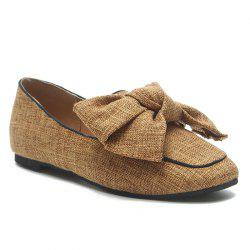 Casual Bow Loafers -