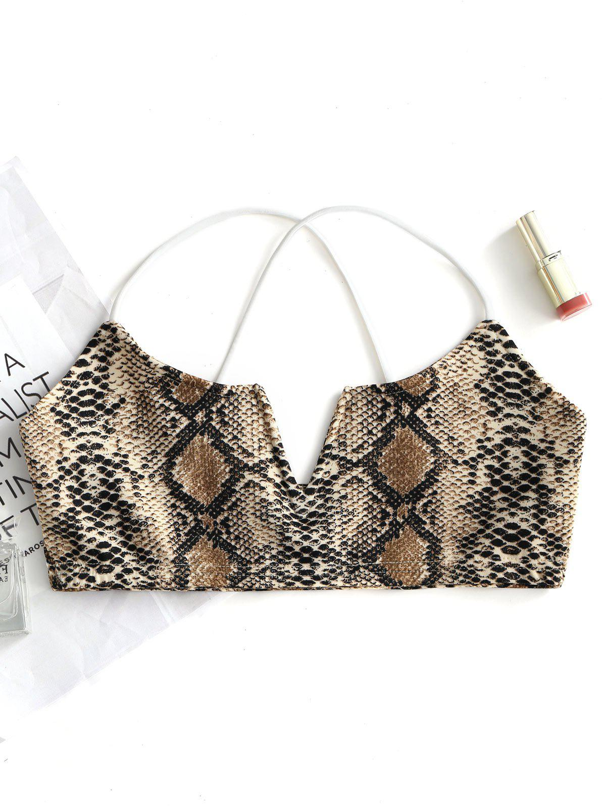 Best Valentine Serpentine Print Bra Outfits