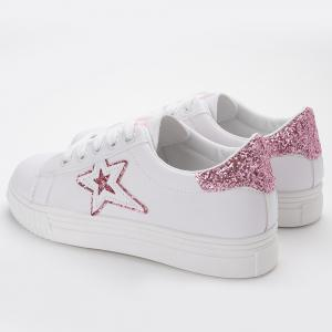 Star Glitter Skate Shoes -