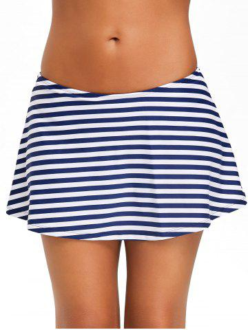 Affordable Beach Stripe Swim Skirt