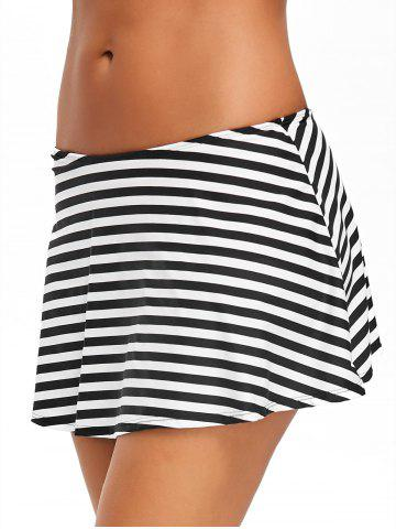 Fashion Beach Stripe Swim Skirt