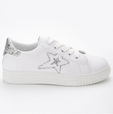 Sale Star Glitter Skate Shoes