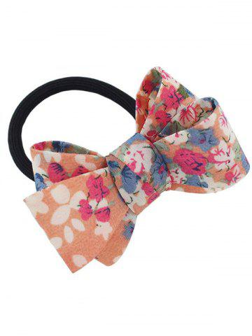 Cheap Flower Bowknot Embellished Elastic Hair Band