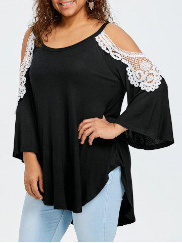 plus size tunic tops - women long sleeve and black cheap with free