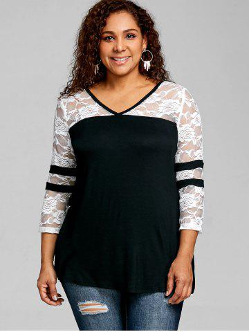 92d95788f9bd4 Plus Size Black And White - Free Shipping