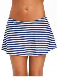 Beach Stripe Swim Skirt -