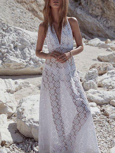 Best See Thru Lace Cover Up Dress