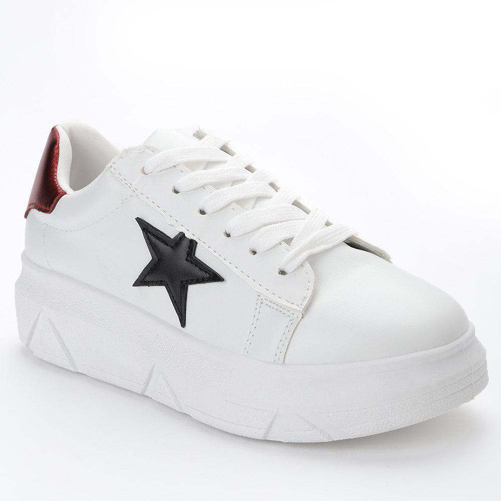 Chic Stitching Star Casual Shoes