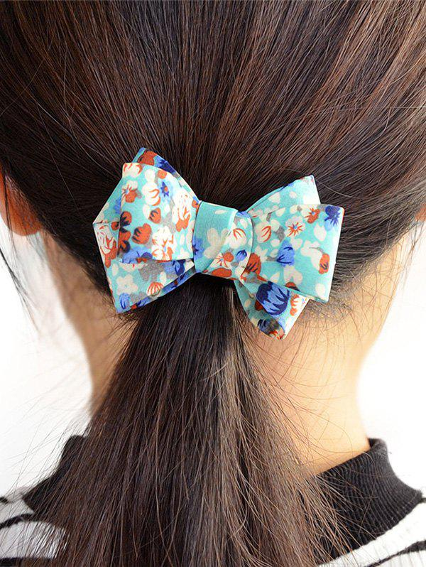 Affordable Flower Bowknot Embellished Elastic Hair Band