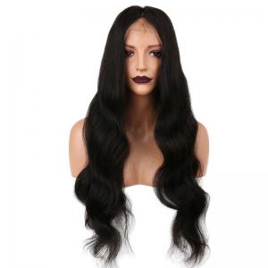 Long Free Part Body Wave Synthetic Lace Front Wig -