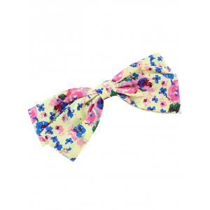 Floral Bowknot Small Hairpin -