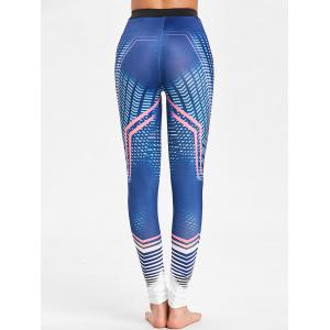 Lines Pattern Workout Tights -