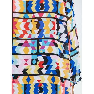 Colored Plus Size Long Cover Up Kimono -
