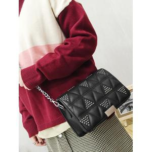 Quilted Studs Crossbody Bag -