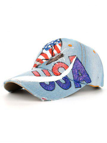 Buy Unique Hand Drawing Butterfly American Flag Baseball Hat