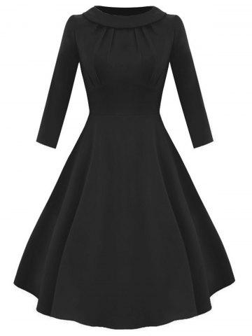 Latest Empire Waist Vintage Fit and Flare Dress