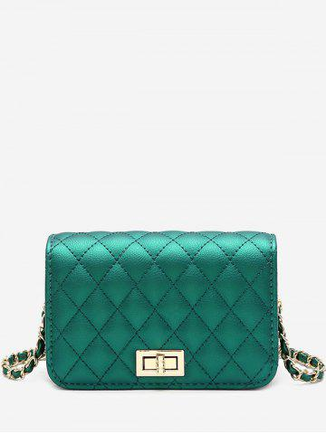 Store Stitching Quilted Crossbody Bag