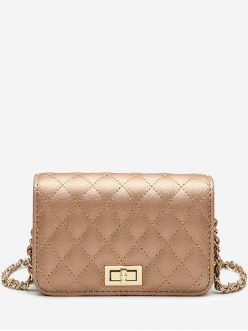 Buy Faux Leather Stitches Crossbody Bag